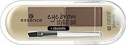 Profumi e cosmetici Polvere per sopracciglia - Essence Eyebrow Stylist