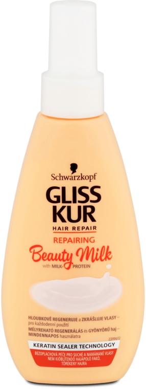 Latte ristrutturante per capelli danneggiati - Schwarzkopf Gliss Kur Repairing Beauty Milk