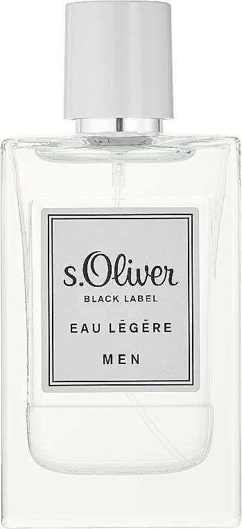 S. Oliver Black Label Eau Legere Men - Eau de toilette — foto N1