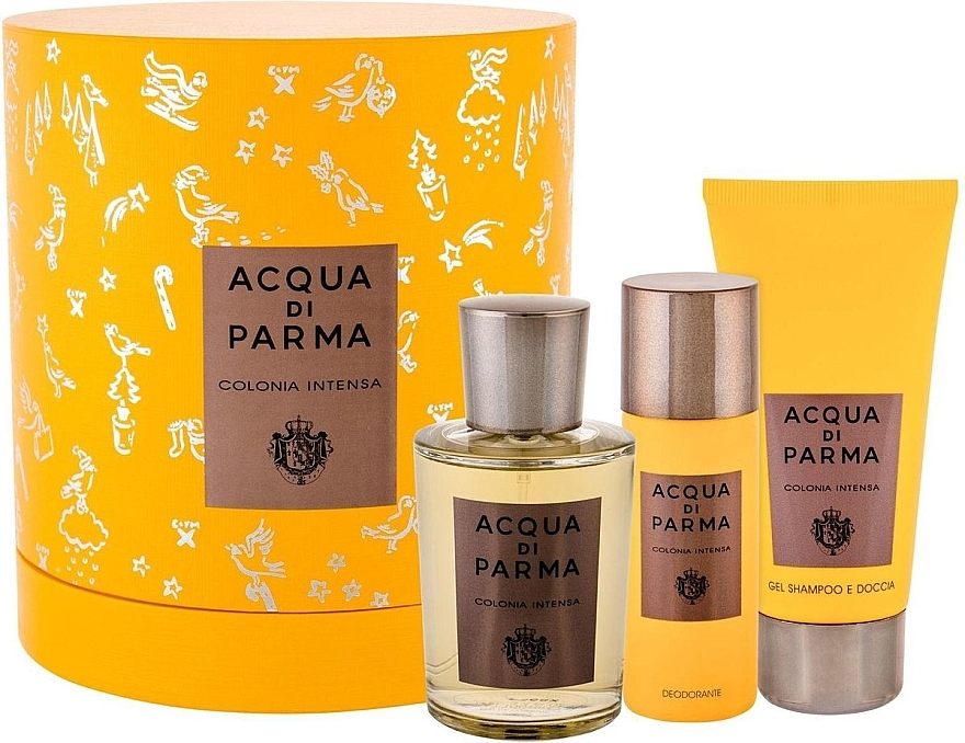 Acqua Di Parma Colonia Intensa - Set (edc/100ml + sh/gel/75ml + deo/50ml)