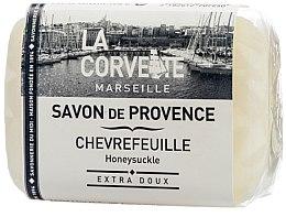 """Profumi e cosmetici Sapone di Provenza """"Caprifoglio"""" - La Corvette Provence Soap Honeysuckle"""