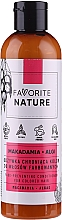 Profumi e cosmetici Balsamo per capelli colorati con olio di macadamia - Favorite Nature Macadamia & Algae