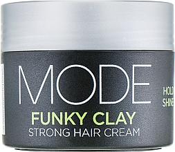 Profumi e cosmetici Crema capelli volumizzante, tenuta forte - Affinage Mode Funky Clay