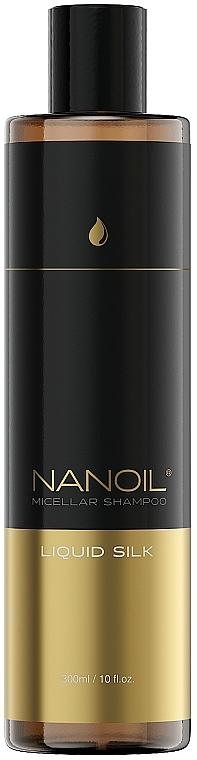 Shampoo micellare alla seta liquida - Nanoil Liquid Silk Micellar Shampoo