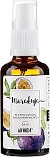 """Profumi e cosmetici Olio capelli alta porosità """"Frutto della passione"""" - Anwen Passion Fruit Oil for High-Porous Hair (vetro)"""