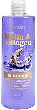 Profumi e cosmetici Shampoo rassodante al collagene e biotina - Anovia Shampoo Biotin & Collagen