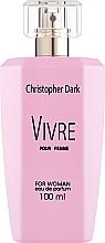 Profumi e cosmetici Christopher Dark Vivre - Eau de parfum