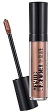 Profumi e cosmetici Rossetto - Flormar Metallic Lip Charmer Glaze