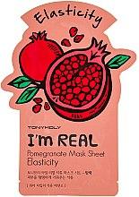 Profumi e cosmetici Maschera in tessuto - Tony Moly I'm Real Pomegranate Mask Sheet