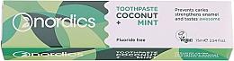 """Profumi e cosmetici Dentifricio """"Cocco e Menta"""" - Nordics Coconut + Mint Toothpaste"""