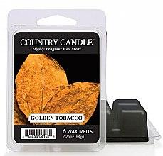 Profumi e cosmetici Cera per lampada aromatica - Country Candle Golden Tobacco Wax Melts