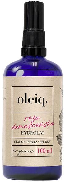 Idratato rosa damascena per viso, corpo e capelli - Oleiq Damask Rose Hydrolat