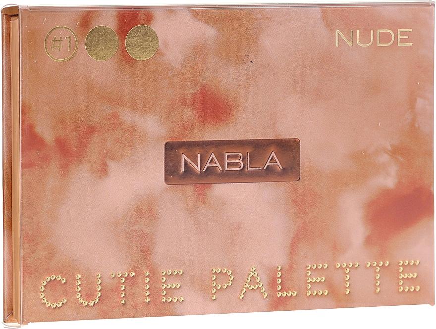 Palette ombretti - Nabla Cutie Collection Palette Nude
