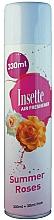 "Profumi e cosmetici Deodorante per ambienti ""Rose d'estate"" - Insette Air Freshener Summer Roses"
