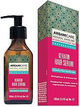 Profumi e cosmetici Siero per capelli alla cheratina - Arganicare Keratin Repairing Hair Serum