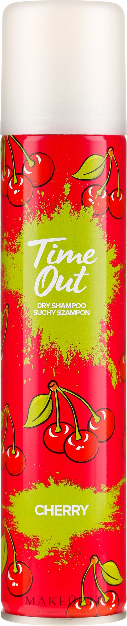 Shampoo secco - Time Out Dry Shampoo Cherry — foto 200 ml