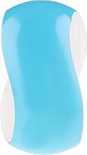Profumi e cosmetici Spazzola per capelli, blu-bianca - Twish Spiky 1 Hair Brush Sky Blue & White