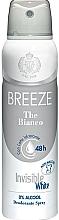 Profumi e cosmetici Breeze Deo Spray The Bianco - Deodorante corpo