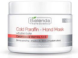 Profumi e cosmetici Maschera mani con burro di karité e paraffina fredda - Bielenda Professional Cold Paraffin Hand Mask With Shea Butter (400 g)