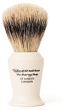 Profumi e cosmetici Pennello da barba, S376 - Taylor of Old Bond Street Shaving Brush Super Badger size L