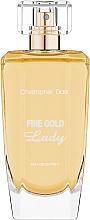 Profumi e cosmetici Christopher Dark Fine Gold Lady - Eau de Parfum