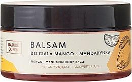 """Profumi e cosmetici Balsamo corpo """"Mango e Mandarino"""" - Nature Queen Body Balm"""