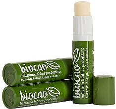 Profumi e cosmetici Balsamo labbra protettivo - La Saponaria Lip balm Shea and Mint