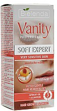 Profumi e cosmetici Set depilazione viso - Bielenda Vanity Soft Expert (cr/15ml + balm/2x5g + blade)