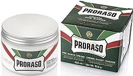 Profumi e cosmetici Crema da barba con estratto di mentolo ed eucalipto - Proraso Green Pre Shaving Cream