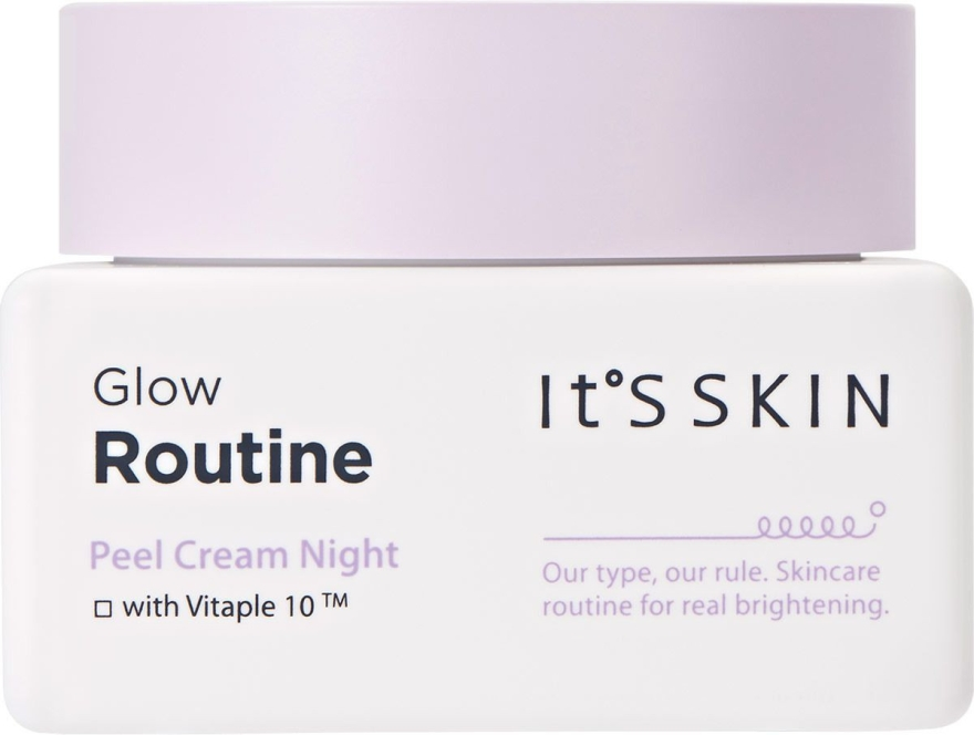 Crema viso da notte - It's Skin Glow Routine Peel Cream Night — foto N1