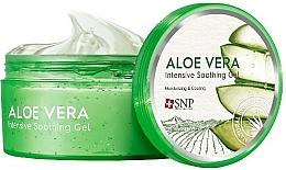 Profumi e cosmetici Gel idratante viso e corpo con aloe vera - SNP Intensive Snail Soothing Gel