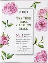 Profumi e cosmetici Maschera viso lenitiva - Petitfee&Koelf Tea Tree Rose Calming Mask