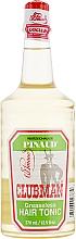 Profumi e cosmetici Tonico capelli ammorbidente - Clubman Pinaud Greaseless Hair Tonic
