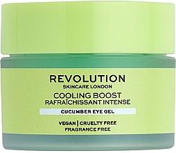 Profumi e cosmetici Crema per contorno occhi al cetriolo - Revolution Skincare Cooling Boost Cucumber Eye Gel