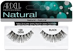 Profumi e cosmetici Ciglia finte - Ardell Natural Lashes Demi Black 120