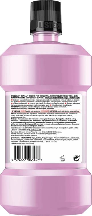 Collutorio - Listerine Total Care Zero — foto N2