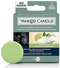 Profumi e cosmetici Diffusore di aromi per auto - Yankee Candle Car Powered Fragrance Refill Vanilla Lime (ricarica)