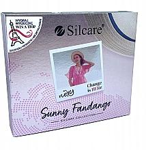 Profumi e cosmetici Set - Silcare Flexy Sunny Fantango (gel nail/4x4.5g)