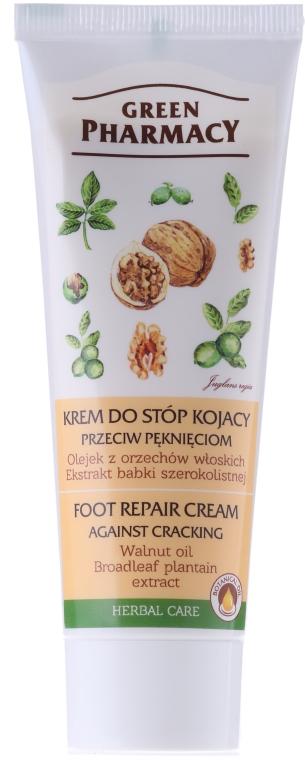 """Crema piedi """"Estratto di noci e piantaggine"""" - Green Pharmacy"""