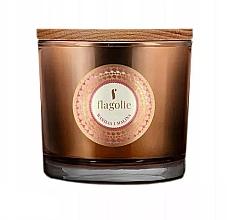 """Profumi e cosmetici Candela profumata in bicchiere """"Vaniglia e Lampone"""" - Flagolie Fragranced Candle Vanilla And Raspberry"""