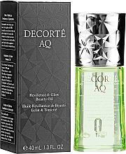 Profumi e cosmetici Olio viso - Cosme Decorte AQ Botanical Pure Oil