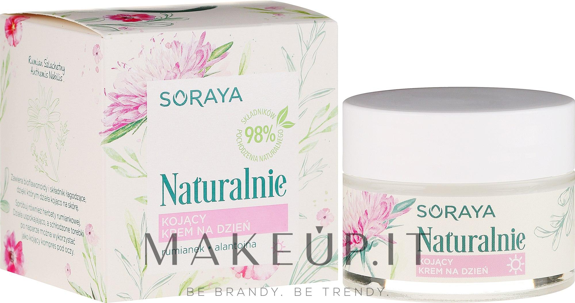 Crema lenitiva viso - Soraya Naturalnie Day Cream — foto 50 ml
