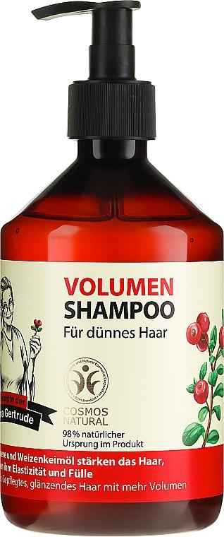 Shampoo per volume - Ricette di nonna Gertruda
