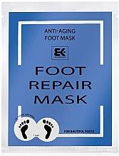 Profumi e cosmetici Maschera piedi idratante - Brazil Keratin Foot Rapair Mask