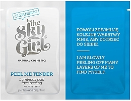 Profumi e cosmetici Peeling viso - Be The Sky Girl Super Star Peel Me Tender