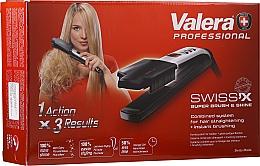 Profumi e cosmetici Piastra per capelli - Valera Swiss'x Super Brush & Shine