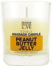 """Profumi e cosmetici Candela da massaggio naturale """"Peanut Jelly"""" - Sezmar Collection Peanut Butter Jelly"""