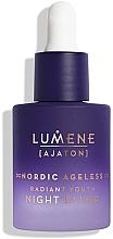Profumi e cosmetici Elisir rigenerante da notte - Lumene Nordic Ageless [Ajaton] Radiant Youth Night Elixir