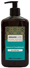 Profumi e cosmetici Balsamo indelebile per capelli ricci - Arganicare Shea Butter Leave-In Hair Conditioner For Curly Hair