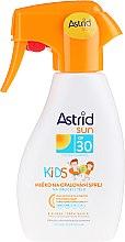 Profumi e cosmetici Latte-spray solare per bambini - Astrid Sun Kids Milk Spray SPF 30